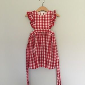 Other - Little red Costume/red gingham pinafore